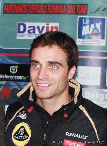 Jérôme D'Ambrosio, sponsorisé par Max25, sur les pistes italiennes!