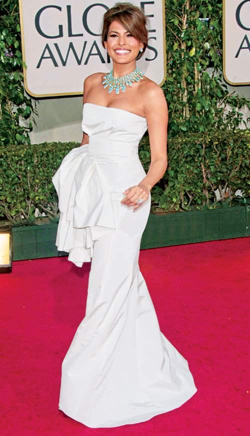 Robe de soiree blanche glamour
