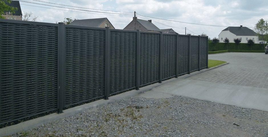 Un brise-vue en aluminium: l\'idéal pour votre jardin !