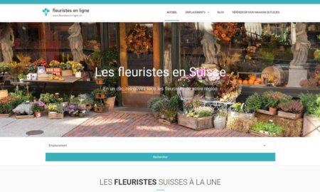 Fleuristes-en-ligne.ch : l'annuaire des fleuristes en Suisse