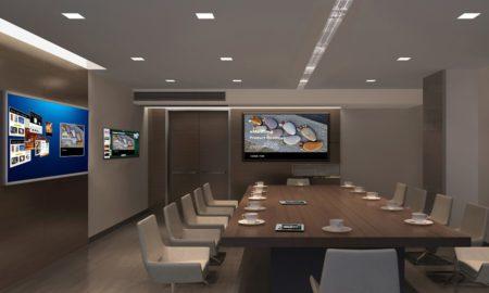 Visioconférence, matériel audiovisuel indispensable dans une réunion