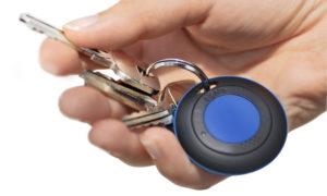 Porte-clé connecté