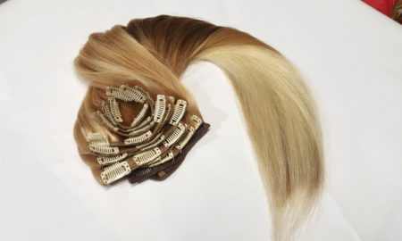 Extension cheveux clip