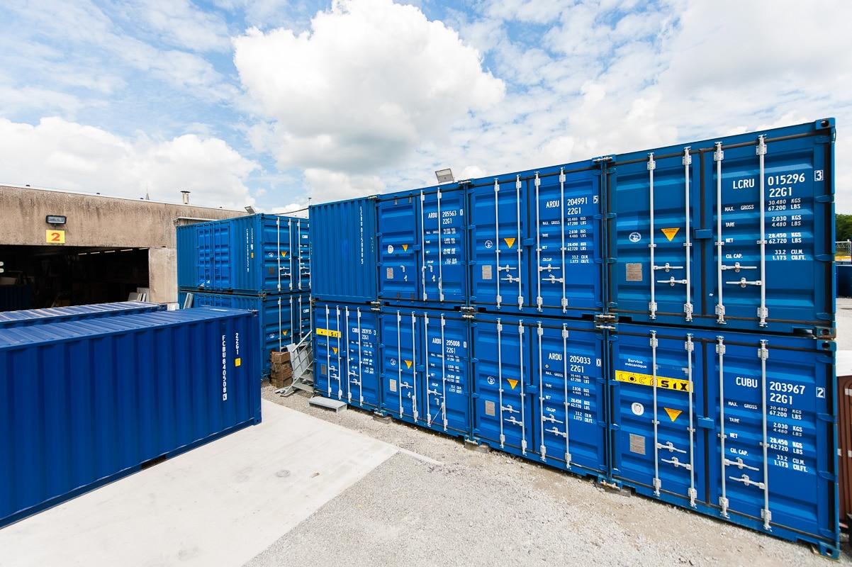 Louer un container pour augmenter sa surface de stockage for Un container