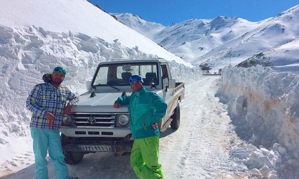 Skier en Iran? Oui, c'est possible!
