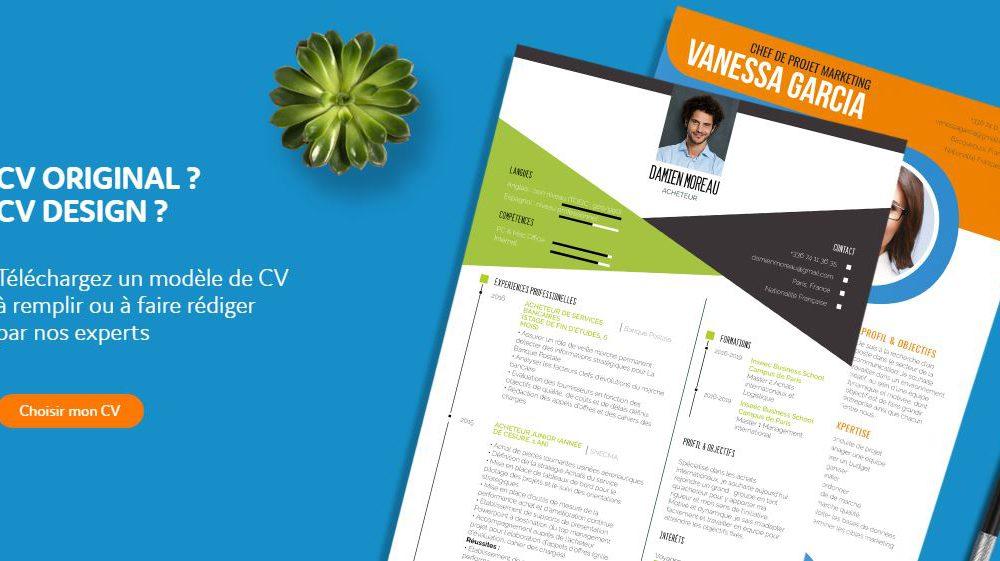 MyCVFactory.com, le leader des modèles de CV vient de lancer son nouveau site