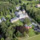Château Roseraie à Spa - vue aérienne