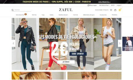 Les sites de vente en ligne chinois et la mode