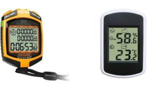 Un site dédié à la vente de chronomètres et thermomètres