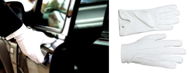 Le gant blanc, l'expert de l'habillage des mains