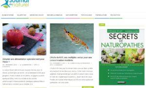 Journal du naturel : le portail web qui permet de découvrir la générosité de Mère Nature
